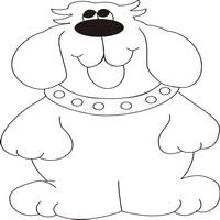 Раскраски с собаками - можно бесплатно скачать одим файлом.