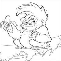Книга джунглей the jungle book обезьянка с