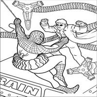 Пауком spider man человек паук схвачен